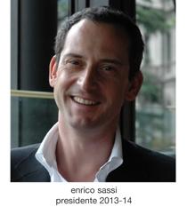 Enrico Sassi, Presidente 2013-2014